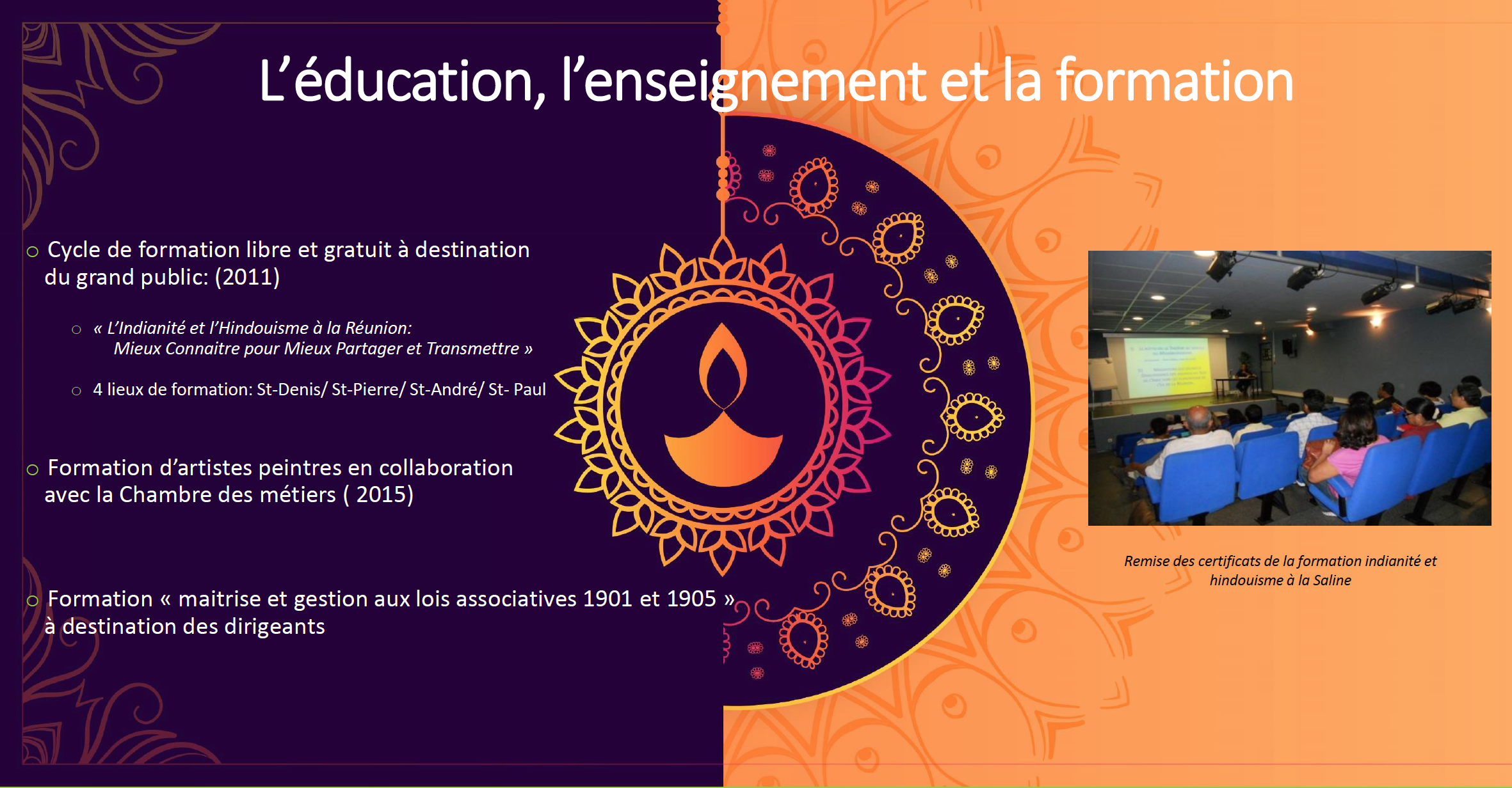 action Education enseignement et formation